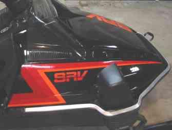 Yamaha Srv Snowmobile